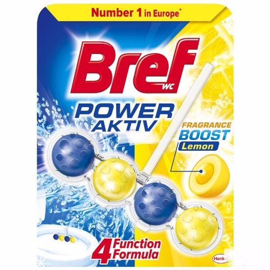 Obrázek BREF POWER KULICKY activ WC blok lemon