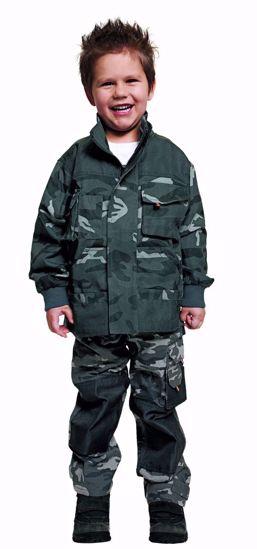 Obrázek EMERTON KIDS bunda camouflage