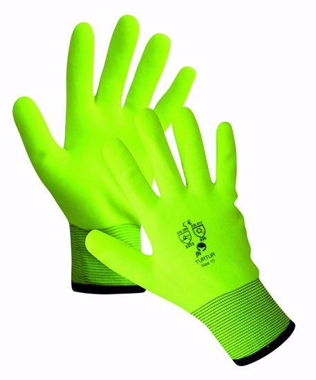 Obrázek z TURTUR FH zimní rukavice, žlutá