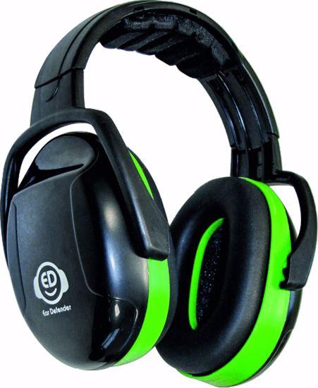 Obrázek z ED 1H sluchátka-hlava EAR DEFENDER green