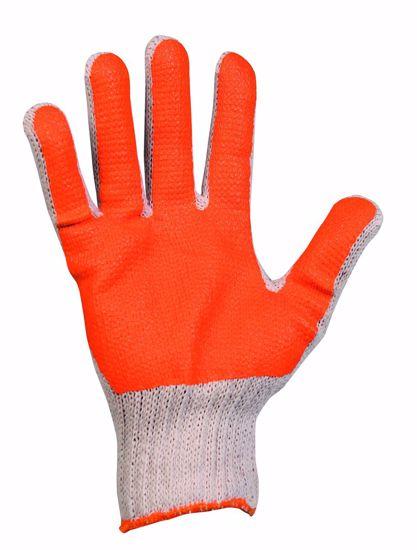 Obrázek SCOTER rukavice potažené PVC, oranžová
