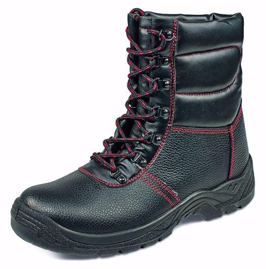Obrázek SC-03-010 vysoká zateplená bot černá