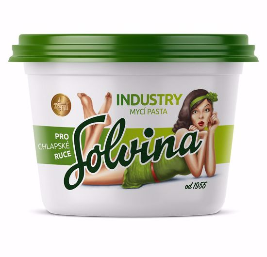 Obrázek Solvina industry 450 g - mycí pasta na ruce
