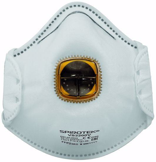 Obrázek SPIROTEK VS2200V respirátor FFP2 s vent.