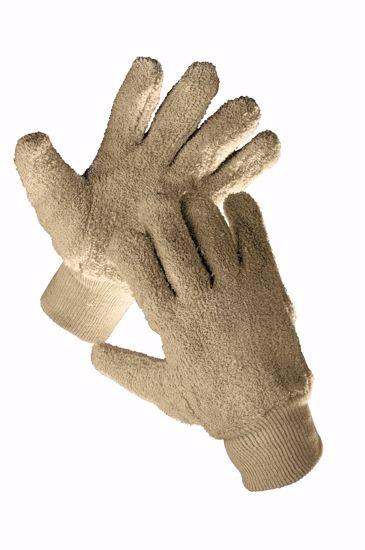 Obrázek z DUNLIN rukavice bavlněné uzlíčkové 10