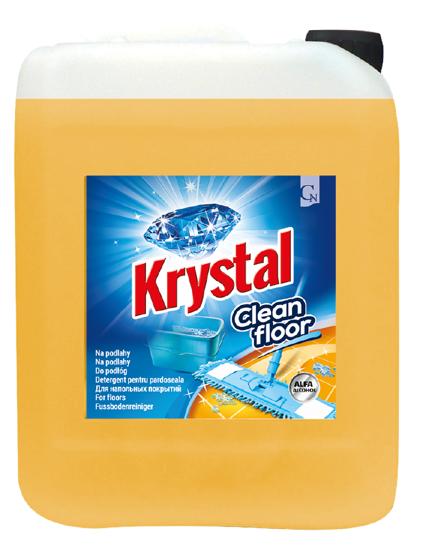 Obrázek KRYSTAL na podlahy 5L s ALFA alkoholem 5L