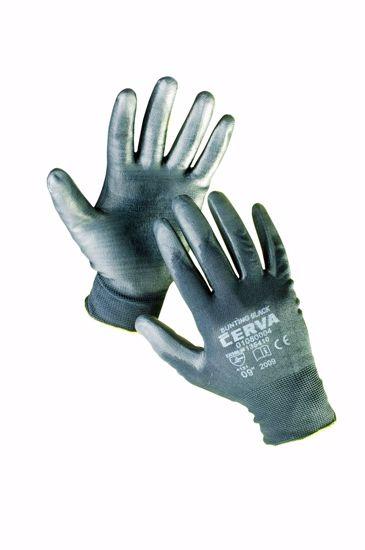 Obrázek BUNTING BLACK rukav. nylon. PU dlaň