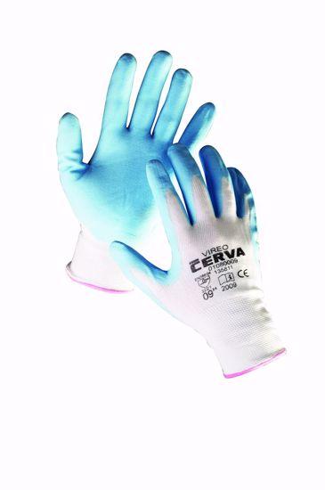 Obrázek z VIREO rukavice máčené v nitrilu