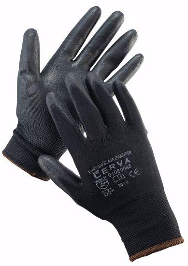 Obrázek z BUNTING BLACK EVOLUTION rukavice PU