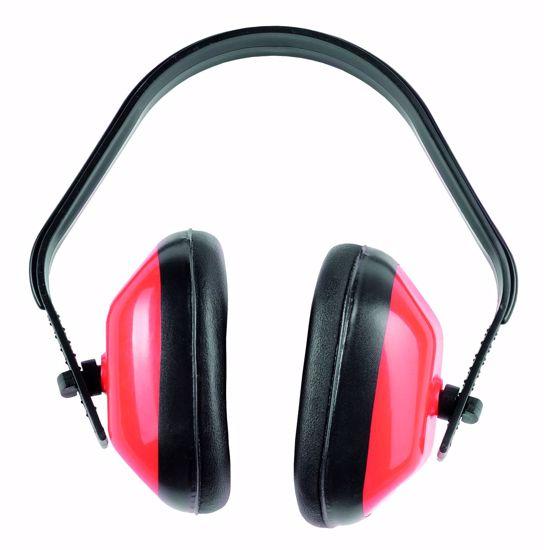 Obrázek FF GS-01-001 sluchátka červená 27dB