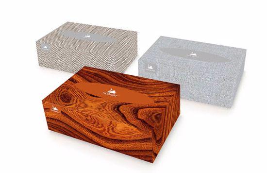 Obrázek Papírové kapesníky HARMONY UNIVERSAL BOX 150
