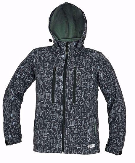 Obrázek LUTTON softshellová bunda