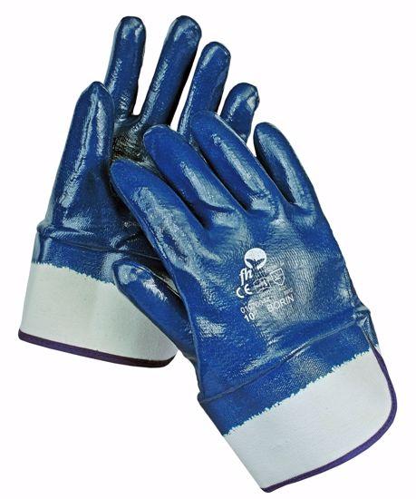 Obrázek BORIN FH rukavice celomáč. Nitril