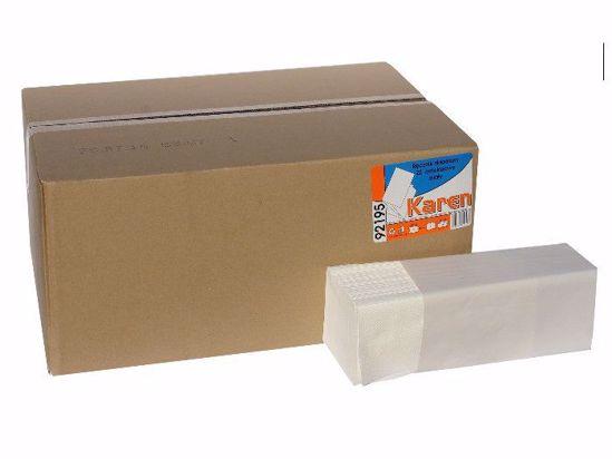 Obrázek ZZ Papírové ručníky ZIK-ZAK bílé, 100% cel, 3200KS