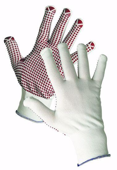 Obrázek GANNET rukav. nylonové s PVC terčík