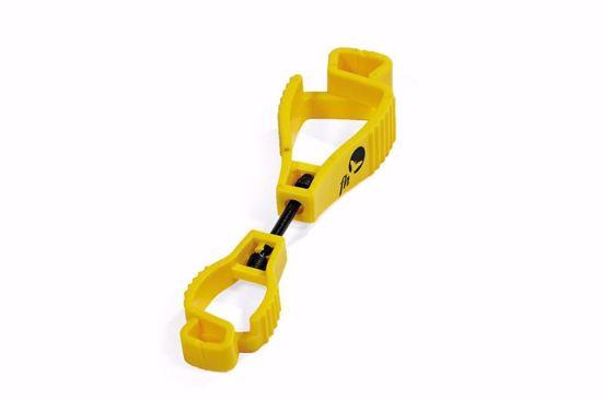 Obrázek Klips na rukavice žlutá