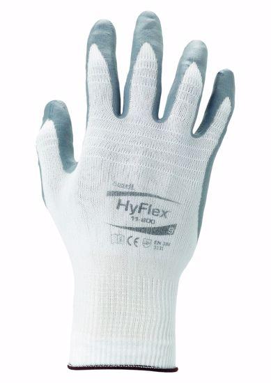 Obrázek Ansell 11-800 HyFlex Foam Bílá-šedá