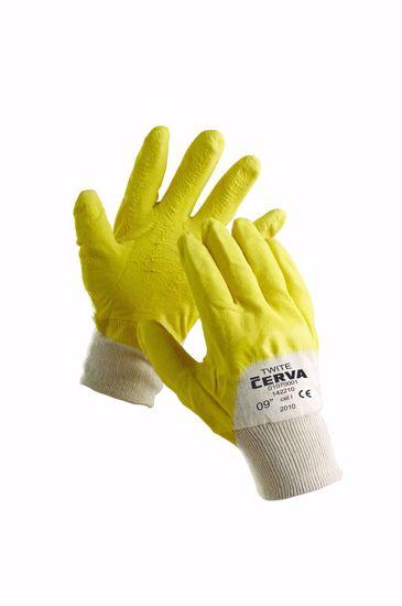Obrázek TWITE rukavice máčené v latexu 10