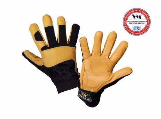 Obrázek 2150 - ochranné pracovní rukavice - kombinované