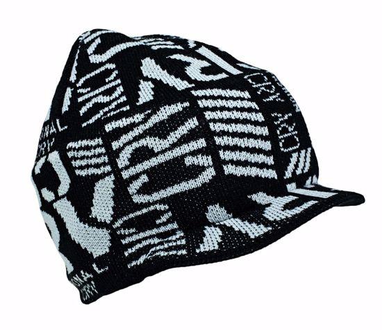 Obrázek STRUCK zimní čepice s kšiltem šedá -