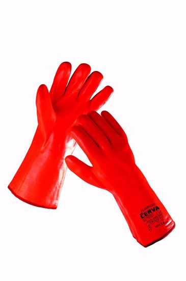 Obrázek FLAMINGO rukavice zimní máč. v PVC - 11
