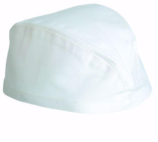 Obrázek VOLANS čepice lodička, bílá