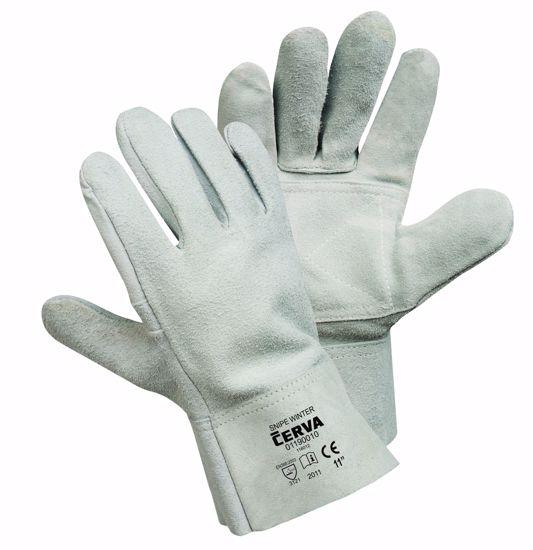 Obrázek SNIPE WINTER rukavice celokožené - 11