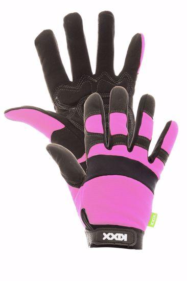 Obrázek z ROCKY rukavice kombinované růžová
