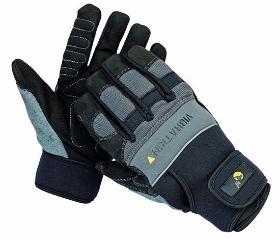 Obrázek z NIGRA FH rukavice kombinované 10