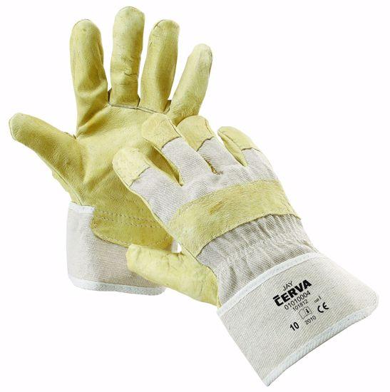 Obrázek JAY rukavice komb.žlutá