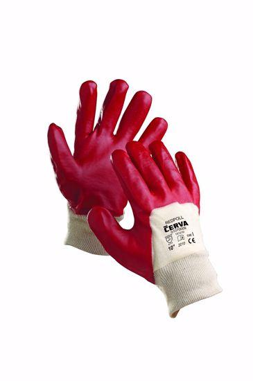 Obrázek REDPOLL rukavice polomáčené v PVC 10
