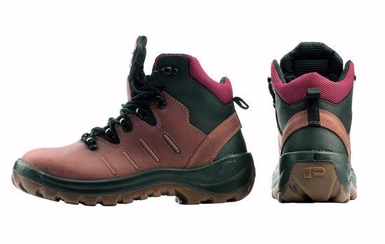 Obrázek PANDA MONVISO kotníková obuv, hnědá S3