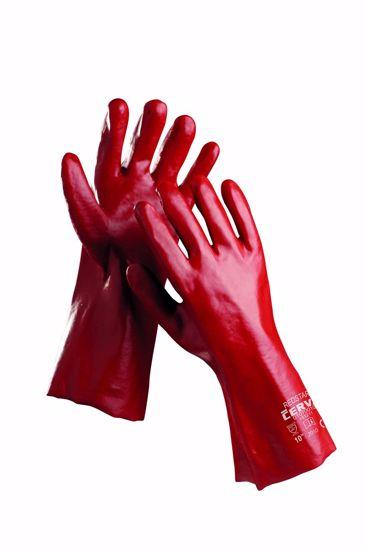 Obrázek REDSTART rukavice celomáčené v PVC  27cm
