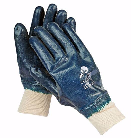 Obrázek DUBIUS FH rukavice celomáč. Nitril