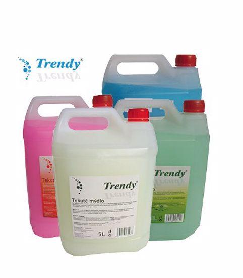 Obrázek Mýdlo tekuté TRENDY MIX  kanystr 5L