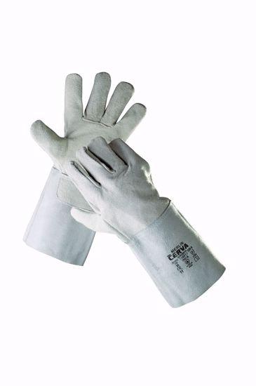 Obrázek MERLIN rukavice celokožené 11