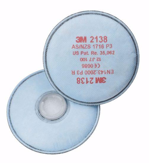 Obrázek z 3M 2138 filtr P3 O3 ativní uhlí + ozón