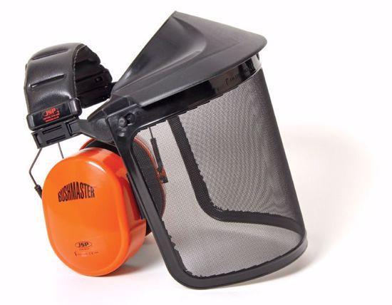 Obrázek JSP BUSHMASTER sluchátka/drátěný štít