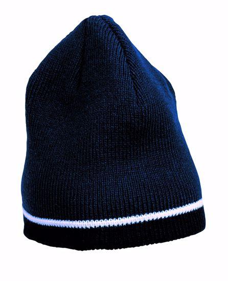 Obrázek RYDE pletená čepice modrá 80g