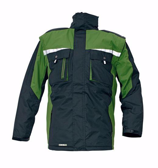 Obrázek ALLYN zimní bunda zelená L
