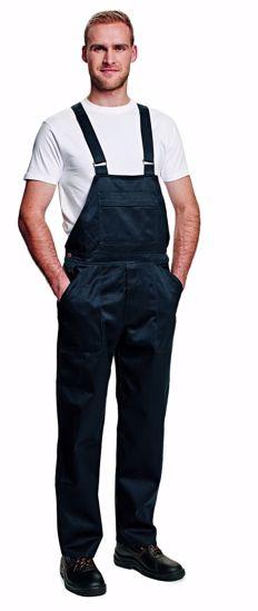 Obrázek COEN kalhoty s laclem, modrá