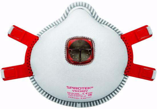 Obrázek SPIROTEK VS2300V respirátor FFP3 s vent.