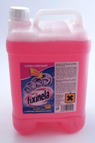 Obrázek Fixinela 5L kanystr - desinfekční prostředek růžov