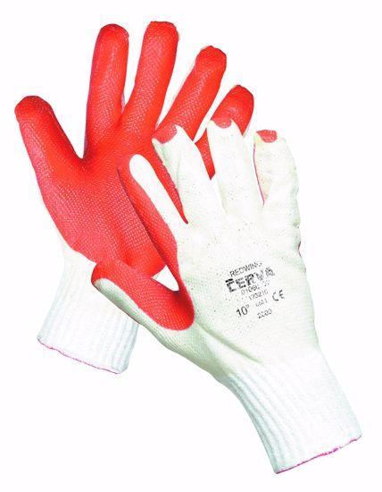 Obrázek z REDWING rukavice povrstvené latexe