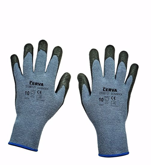 Obrázek DUNNOCK rukav. máčená nitril/guma -