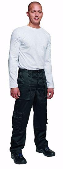 Obrázek z RHINO pracovní kalhoty, černé