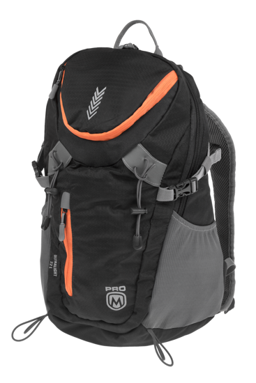 Obrázek HERMIS Backpack black/orange