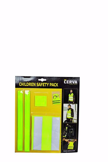 Obrázek Dětský reflexní set NARDA, žlutá 140