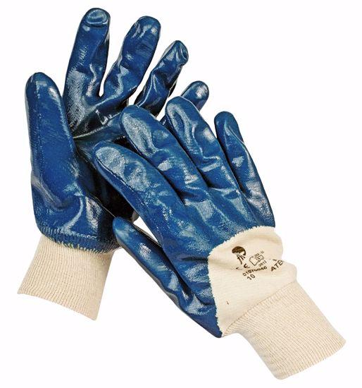 Obrázek ATER FH rukavice polomáč. nitril