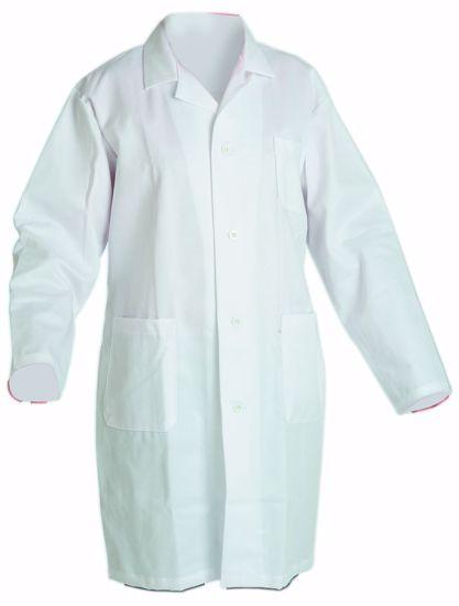 Obrázek FERN plášť dl. rukáv pánský bílý